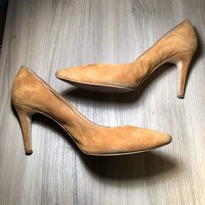 Classic Suede Pumps by J. Crew